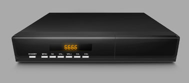 China Decodificador SDTV MPEG-2 H.264 de la caja DVB-T SD TV del convertidor de DTV que descifra 220V 50Hz distribuidor